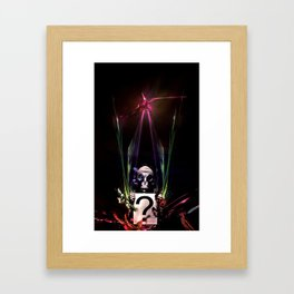 no mask Framed Art Print