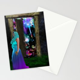 Keeper of the universe Stationery Cards