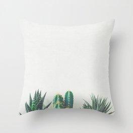 Cactus & Succulents II Throw Pillow