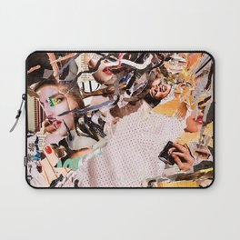 Medusa - Magazine Collage Laptop Sleeve