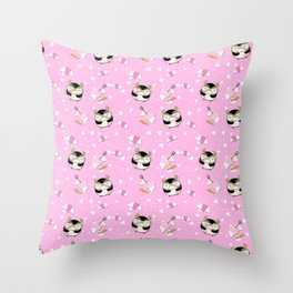 Edna in Cupid is Stupid Throw Pillow