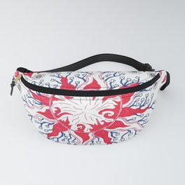 Flaming Sun Abstract Fanny Pack