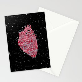 Lonely hearts Stationery Cards
