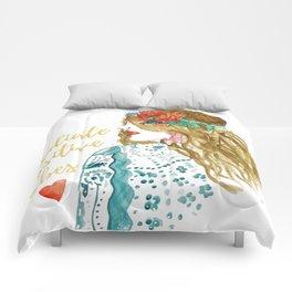 Radiate Positive Vibes Comforters