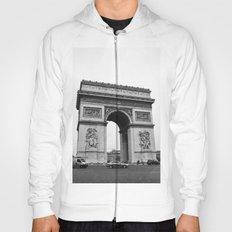 Arc de Triomphe Noir Hoody