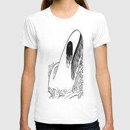 Black Metal Fish Fig. 1 T-shirt
