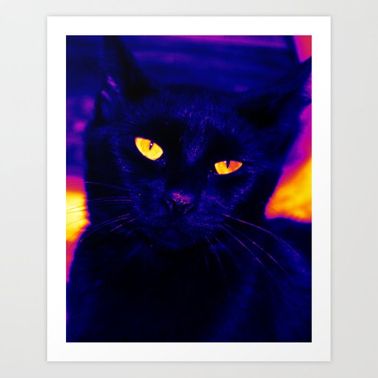 Ink Electricfied Art Print