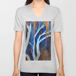 Weeping willow Unisex V-Neck