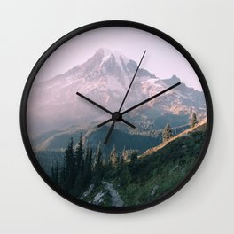 Mt. Rainier National Park Wall Clock