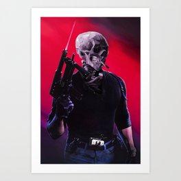 Cobra Skeleton Art Print