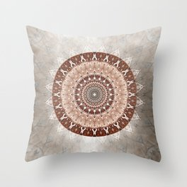 Mandala Gentleness Throw Pillow