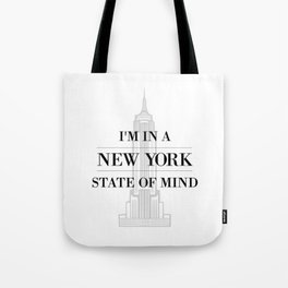 New York State of Mind #1 Tote Bag
