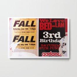 The Fall (plus friends) Metal Print