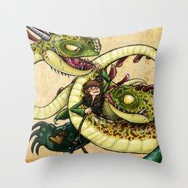 Hideous Hijinks Throw Pillow