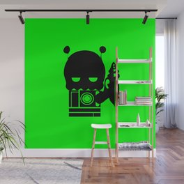Alien Indifference Wall Mural