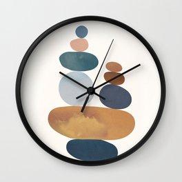 Balancing Stones 31 Wall Clock