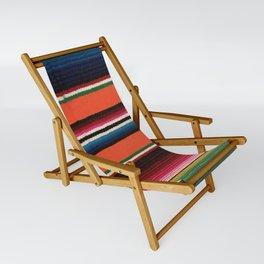 BEAUTIFUL MEXICAN SERAPE Sling Chair