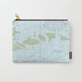 Florida Keys Nautical Chart Carry-All Pouch