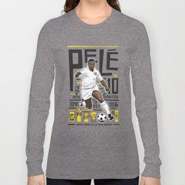 Pelé - Santos FC  Long Sleeve T-shirt