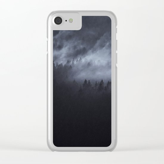 Light Shining Darkly Clear iPhone Case