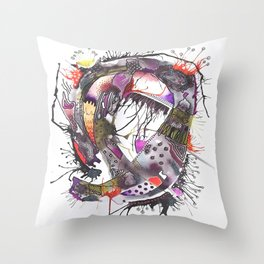Abstract Explorations 7 Throw Pillow