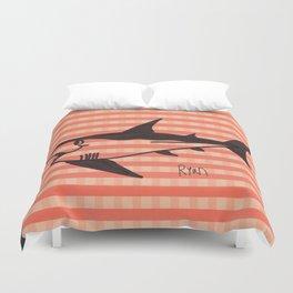 Shark Flag Duvet Cover