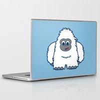 yeti Laptop & iPad Skins featuring YETI by iwantdesigns