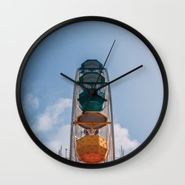 Ferry Wheel at the top of Tibidabo Wall Clock