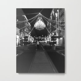 This Is A Classy Town Metal Print