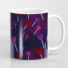 Lollipop Hearts Pattern Coffee Mug