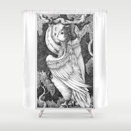 Harpy 4 Shower Curtain