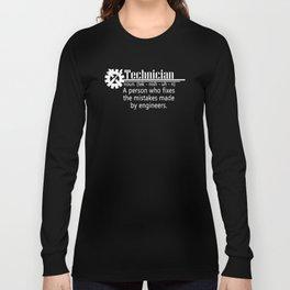 technician Long Sleeve T-shirt