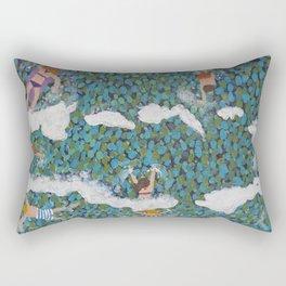 The Swimmers Rectangular Pillow