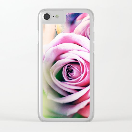 Romantic roses(7). Clear iPhone Case