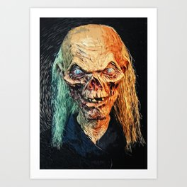 The Crypt Keeper Art Print