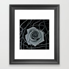 Beauty is Pain Framed Art Print