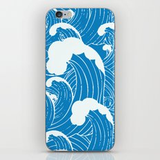 waves after waves iPhone & iPod Skin