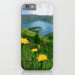 Fogo crater iPhone Case