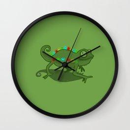 Leddy Lizzard Wall Clock