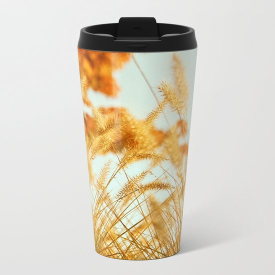Sweater Weather Metal Travel Mug