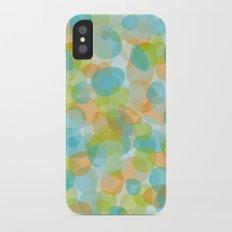 Pebbles Turquoise Slim Case iPhone X