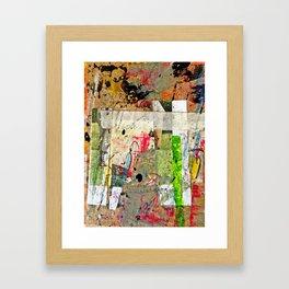 Rolled Gold Framed Art Print