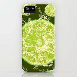 Key Lime Surprise iPhone Case