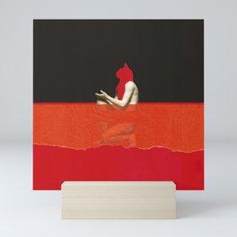 Red Cat Mini Art Print
