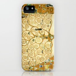 Gustav Klimt - Tree of Life iPhone Case
