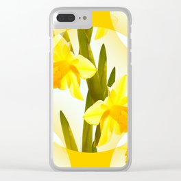 Spring Yellow Flowers #decor #society6 #buyart Clear iPhone Case