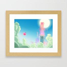 leveL - The Apex Tier Framed Art Print
