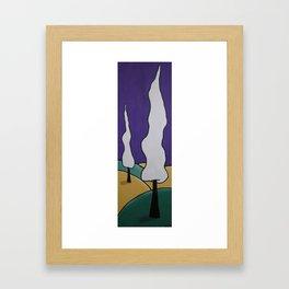 Approaching Autumn Framed Art Print