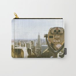 Sunset at Rockefeller Center roof top. Carry-All Pouch