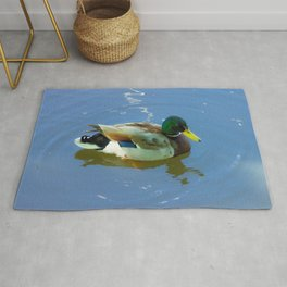 Ducks swimming Rug